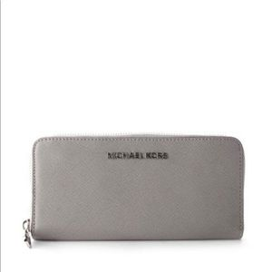 Grey Michael Kors wallet